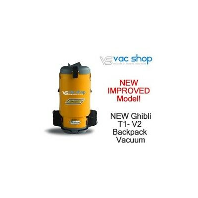 NEW  Ghibli T1-v2 Backpack Commercial Vacuum Cleaner