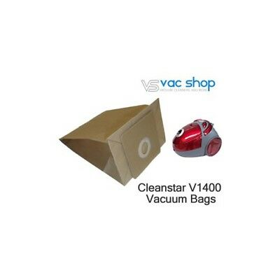 NEW  Cleanstar V1400 Vacuum Cleaner Bags