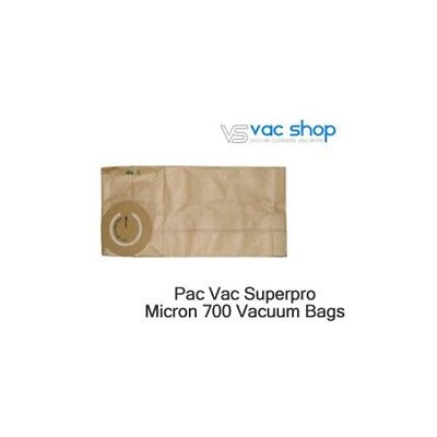 NEW  Pac Vac Superpro Micron 700 Vacuum Cleaner Bags