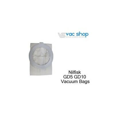 NEW  Nilfisk GD5 GD10 Vacuum Cleaner Bags