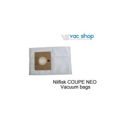 NEW  Nilfisk Coupe Neo, GO Series Generic Vacuum Bags