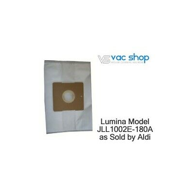 NEW  Lumina JLL1002E-180A by Aldi Vacuum Cleaner Bags