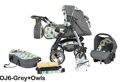 Junior Twist pram pushchair Travel System 3in1 from  ALL IN ONE