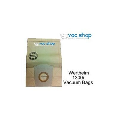 NEW  Wertheim 1300i Vacuum Cleaner Bags