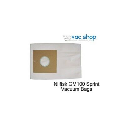 NEW  Nilfisk SPRINT GM100, FREESTYLE GM150 Vacuum Cleaner Bags