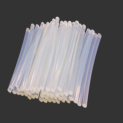 FX- 50Pcs 7 x 100mm Transparent Glue Sticks Adhesive DIY Tool for Hot Melt Gun W