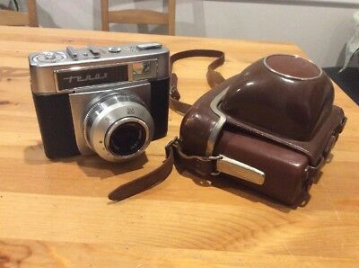 Vintage Zeiss Ikon Tenax Camera; Prontormat-S; Made In Germany
