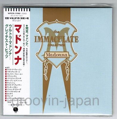 Sealed MADONNA The Immaculate JAPAN TOUR Limited MINI-LP CD WPCR-17082 w/OBI
