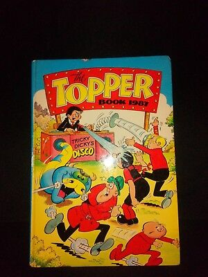 The Topper Annual 1987 Vintage UK Comic Hardback