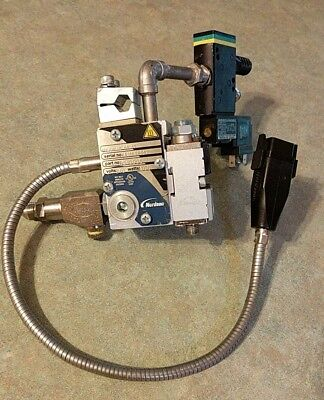 Nordson Glue Gun Solidblue 02 St 8510995 With 2 Modules