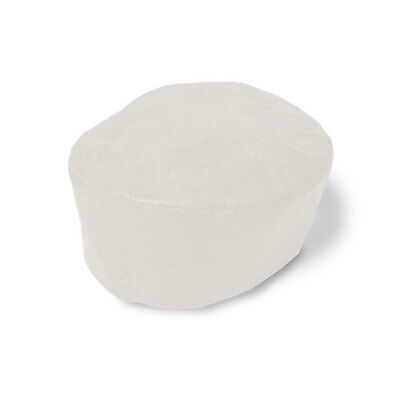 Royal Large White Disposable Beanie Chef Hats/Caps, Package of 50, BC100WL