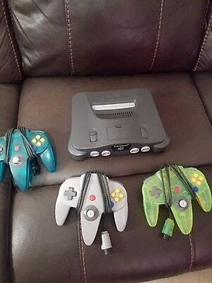 Nintendo 64 Launch Edition Charcoal Grey Console (PAL)