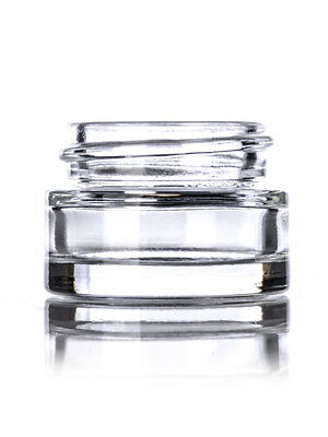 5ml Glass Concentrate Screw Art Jars Cosmetic Lid Balm Makeup Oil Containers