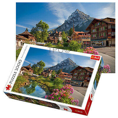 Trefl 2000 Piece Adult Large Summer Scenery Alps Hill Greenery Jigsaw Puzzle NEW