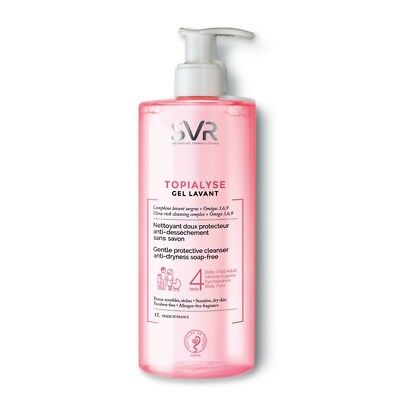 SVR Laboratoires Topialyse Gel Lavant 1L -Gentle Protective Cleansing Gel 1000ml