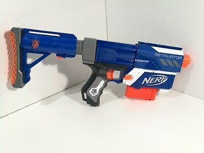 Nerf Retaliator Blaster with darts Hand Pump Action Gun