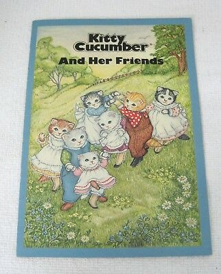 Vintage Kitty Cucumber 1986 Merrimack And Her Friends Book   BBask