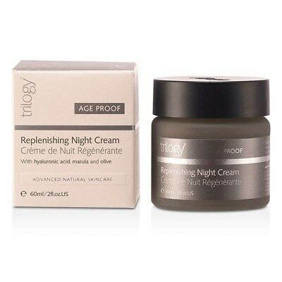 Trilogy Replenishing Night Cream 60ml Womens  Skin Care