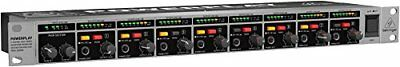 Behringer HA8000 V2 8-Channel High-Power Headphones Mixing and Distribution Amp