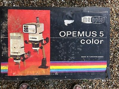 Meopta Opemus 5 colour photographic Enlarger with meopta anaret 4,5/50 lens