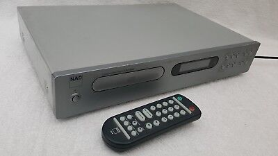 NAD C521BEE CD Player + remote and user manual