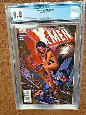 Uncanny X-Men 451 CGC 9.8 White Pages. X-23 Cover