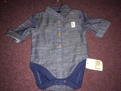 Brand New With Tags 0-3 Months Shirt Vest from Mothercare
