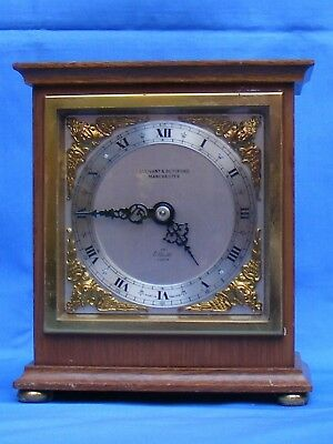 Antique, Vintage Elliott 8 Day Mantle Clock Timepiece, Gwo.