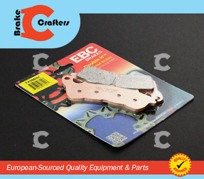 2013 to 2017 Honda NSS300 Forza SFA415HH EBC Sintered REAR Brake Pads