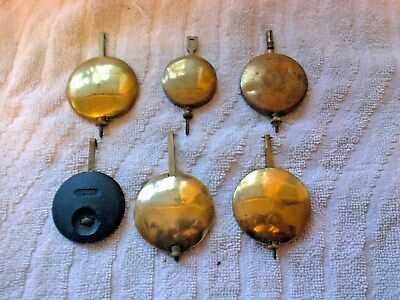 Clock  Parts ,  6  Clock  Pendulums