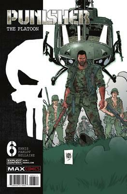 Punisher The Platoon #6, NM 9.4, 1st Print, 2018 Flat Rate Ship-Use Cart