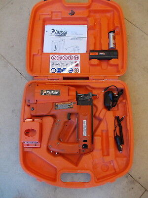 Paslode IM250 F16-II Cordless Nailer - Cased with Battery, Charger, Gas, Docs