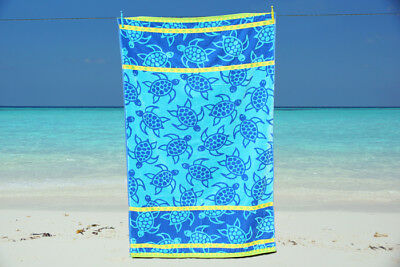 NEW Jumbo Extra Large Beach Towel 100% Cotton Velour Bath Sheet Holidays