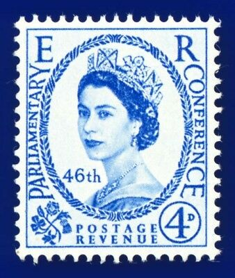 1957 SG560 4d 46th Inter-Parliamentary Union Conference MNH-Unmounted Mint akby