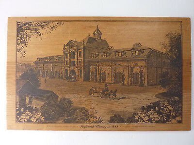 Inglenook Winery Rutherford California Wood Print Wall Decor