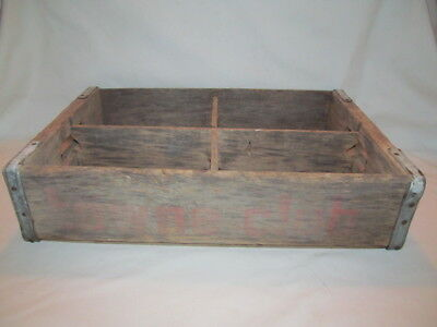 Vintage Towne Club Wooden Crate