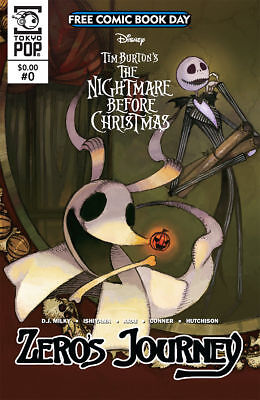 Free Comic Book Day 2018 Nightmare Before Christmas Zero's Journey Unstamped