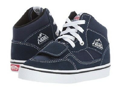 884a63410c VANS KID S MOUNTAIN Edition Shoes (Canvas and Suede) Dress Blue Size ...