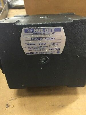 **ONLY 1 LEFT** HUB CITY GEARBOX RATIO 2:1 Model 165 # 0220-00912