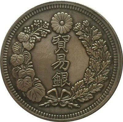 Japan 1 Trade Dollar - Meiji 7,8,9,10 years coin FREE SHIPPING