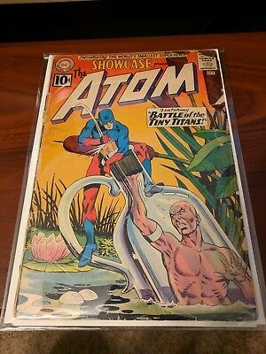 Showcase 34 1st Appearance ATOM DC Comic Key Silver Age Solid Copy Complete C-18