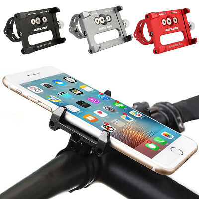 Universal Metal Bicycle Bike Motorcycle Handle Phone Mount Holder For Cellphone