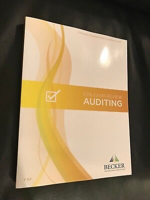 Brand new 2018 becker cpa exam review audit aud v32 latest brand new 2018 becker cpa exam review audit aud v32 latest edition fandeluxe Choice Image