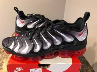 898987f18ed Nike Air VaporMax Plus Shark Bite Attack Tooth Speed Red AQ8632-001 Black 8-