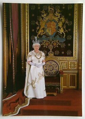H.M. Queen Elizabeth II State Opening of Parliament Postcard (P303)