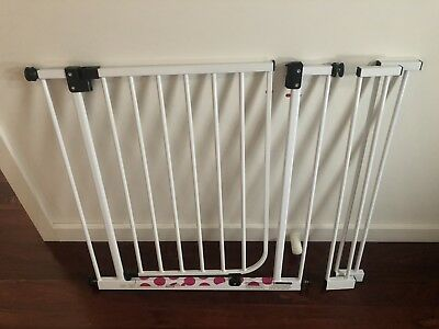 Child Stair Gate 71cm To 83cm Plus Extensions