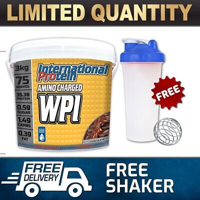 International Protein Amino Charged WPI Whey Hydrolysed Isolate Powder
