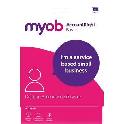 MYOB AccountRight Basics Full Licence No subscription fees  - Email code