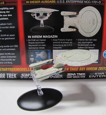 Star Trek ( U.S.S. Enterprise NCC-1701-D ) mit Heft