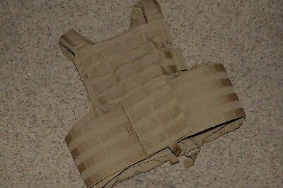 Eagle Industries Coyote Brown Large Land CIRAS Plate Carrier Vest Molle FSBE
